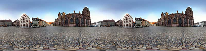 Panorama Muenster Nordseite